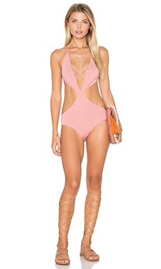 Melbourne Maillot One Piece in Dusty