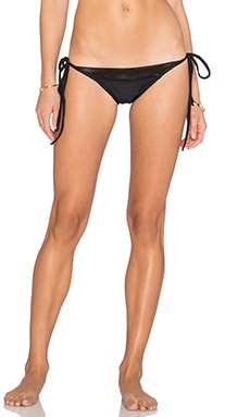 Rachel Pally Mesh Naxos Bikini Bottom in Black