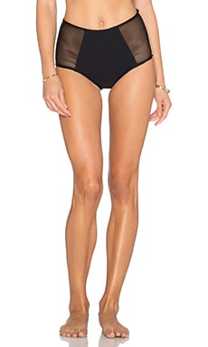 Rachel Pally Mesh Madagascar Bikini Bottom in Black
