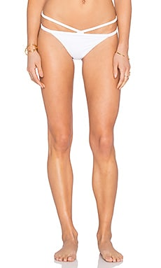Rachel Pally Sunset Bikini Bottom in White