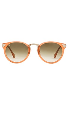 RAEN optics Nera in Coral Crystal & Gold