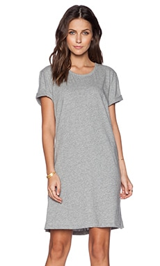 rag & bone/JEAN Tomboy Dress in Medium Heather Grey