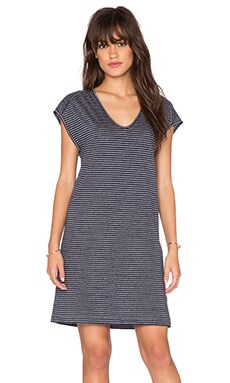 rag & bone/JEAN Anya Striped Tank Dress in Indigo