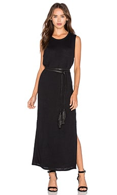 rag & bone/JEAN Double Layer Dress in Black