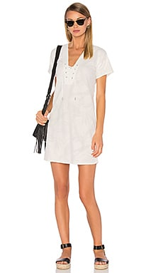 rag & bone/JEAN Palm Dress in Blanc