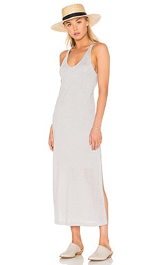 Malibu Dress in Heather Grey