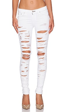rag & bone/JEAN The Skinny in White Trasher