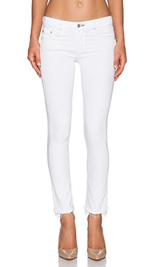 rag & bone/JEAN The Crop in Bright White
