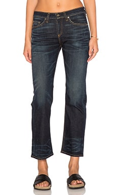 rag & bone/JEAN Crop Straight Leg in Nord