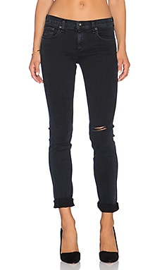 rag & bone/JEAN The Dre Slim Boyfriend in Aged Coal Holes