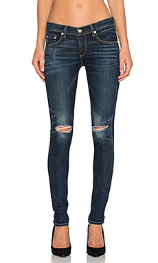 rag & bone/JEAN Slim Distressed Skinny in Ayoyama