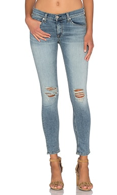 rag & bone/JEAN Mid Rise Capri in Murray
