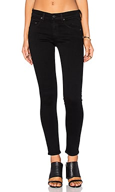 rag & bone/JEAN Capri in Nero