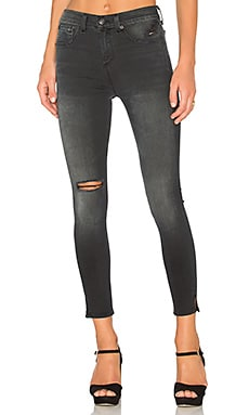 rag & bone/JEAN 10 Inch Capri in Steele
