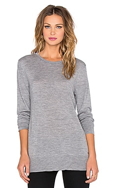 rag & bone/JEAN Leanna Boyfriend Sweater in Medium Grey