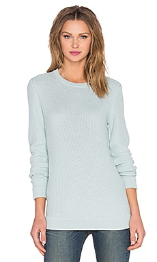 rag & bone/JEAN Rita Boyfriend Pullover in Cloud Blue