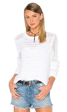 rag & bone/JEAN Annie Pullover in White