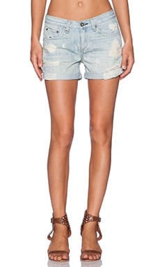 rag & bone/JEAN Boyfriend Short in Cliffs Rebel