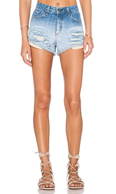 rag & bone/JEAN Marilyn Short in Ombre