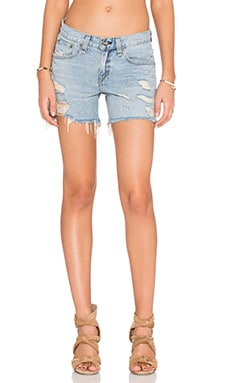 rag & bone/JEAN Boyfriend Short in Dixen