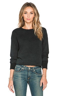 rag & bone/JEAN Pier Sweatshirt in Black