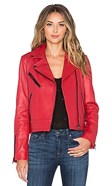rag & bone/JEAN Chrystie Jacket in Red