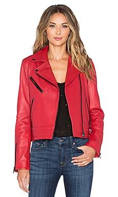 rag & bone/JEAN Chrystie Jacket in Red