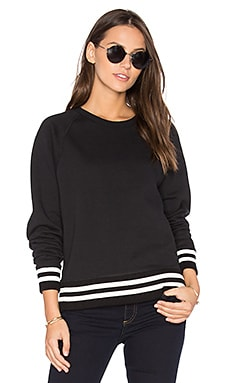 Classic Varsity Sweatshirt in Black