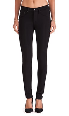 rag & bone/JEAN Football Legging in Black