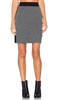 rag & bone/JEAN Nina Sweater Skirt in Charcoal