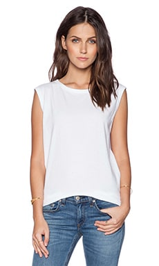rag & bone/JEAN Perfect Muscle Tank in Bright White