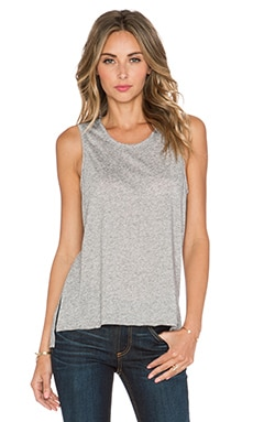 rag & bone/JEAN Hollins Tank in Heather Grey