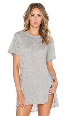 rag & bone/JEAN Hollins Tee in Heather Grey
