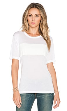 rag & bone/JEAN Tomboy Stripe Tee in White