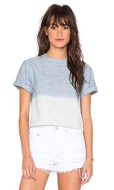 rag & bone/JEAN Crop Top in Grimsby Ombre