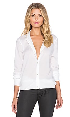 rag & bone/JEAN Beau Button Up Shirt in Bright White