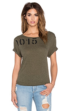 rag & bone/JEAN Concert Tee in Olive Night