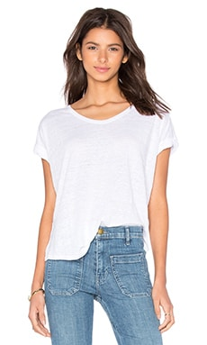 rag & bone/JEAN Cargo Tee in Bright White