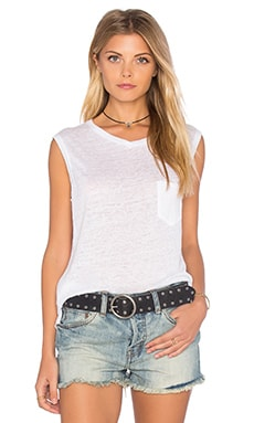 rag & bone/JEAN Laurel Muscle Tank in Bright White