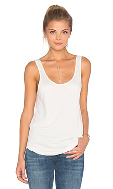 rag & bone/JEAN Canyon Tank in Blanc