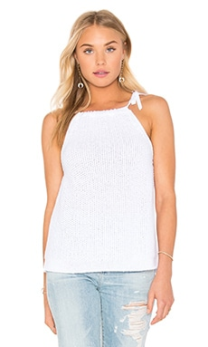 rag & bone/JEAN Willa Tank in White