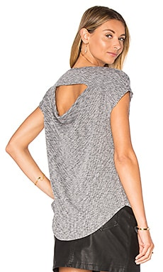 Highland Drape Back Tee