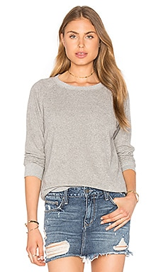 Ragdoll Vintage Terry Sweatshirt in Light Grey