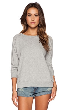 Ragdoll Vintage Sweatshirt in Light Grey