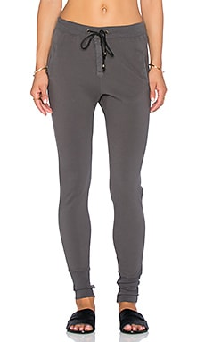 Ragdoll Pique Pant in Dark Grey