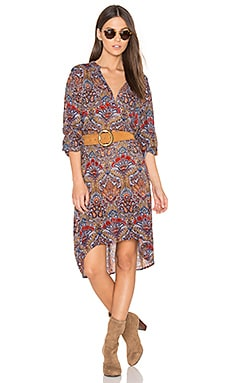 Batik Shirt Dress in Multi