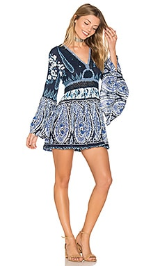 Luisa Long Sleeve Tunic in Marineblau