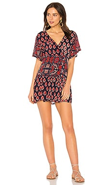 Infinite Nights Short Wrap Dress Raga $59
