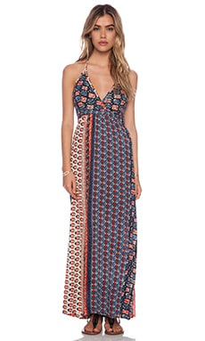 Raga Halter Maxi Dress in Navy