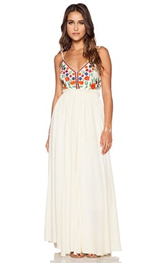 Raga The Isabella Maxi Dress in Sugar Cookie